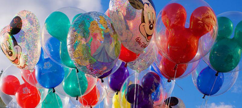 Festa a tema Topolino: palloncini colorati