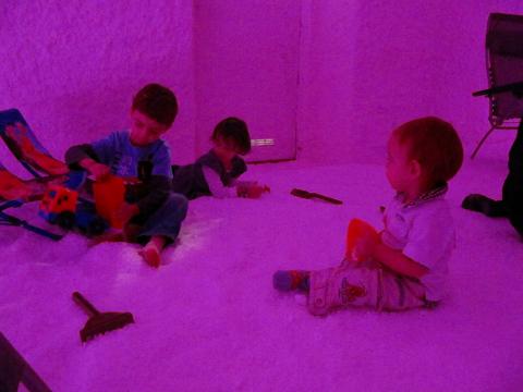 Feste per bambini in grotte di sale Aria di Mare