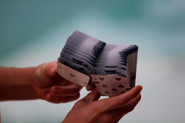 Mazzo di carte utilizzato per fare trucchi di micromagia