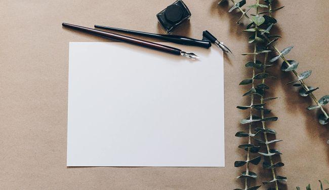 scrivere sugli inviti