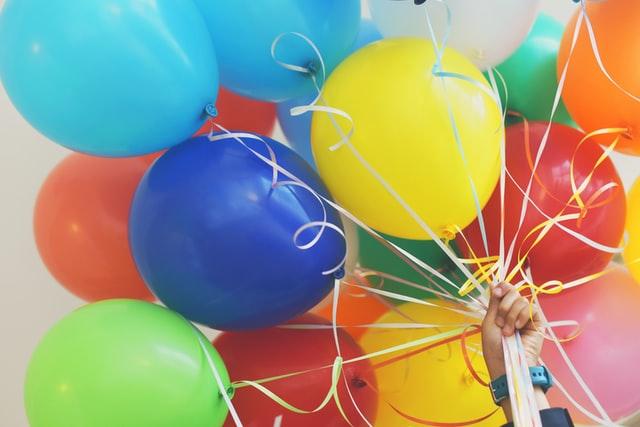 Allestimento festa per bambini in palestra