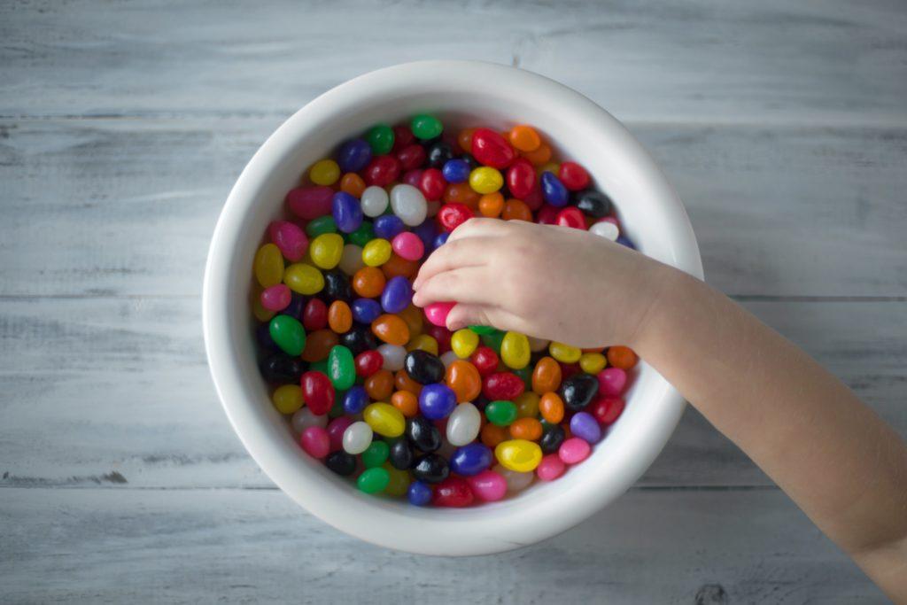 caramelle per buffet per una festa di compleanno per bambini