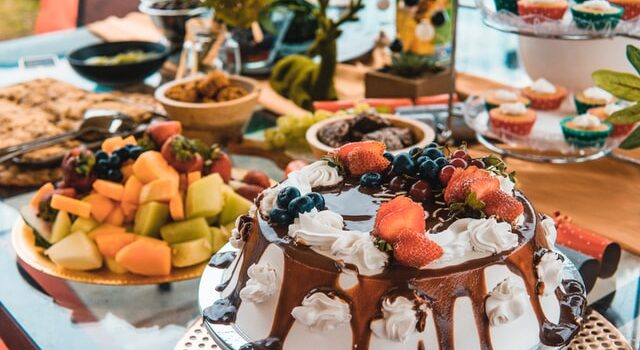 Buffet compleanno bambini