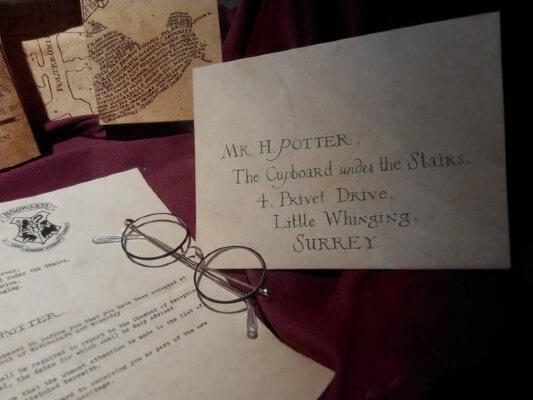 Inviti festa a tema Harry Potter