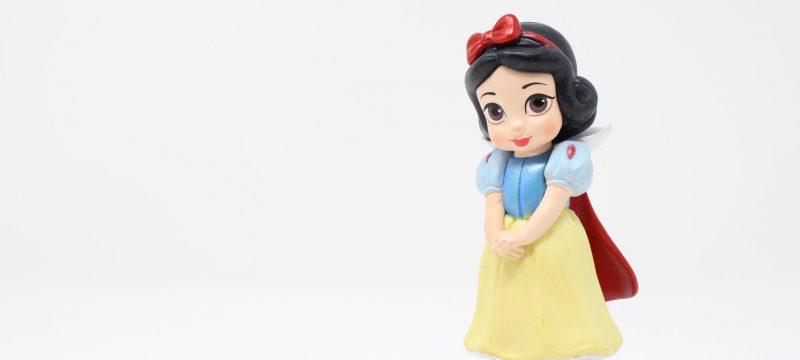 Festa a tema Principesse Disney: statuetta di Biancaneve