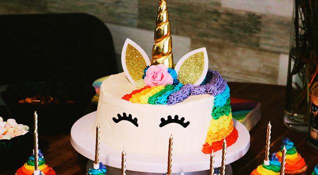 Festa di compleanno per bambini a tema Unicorni