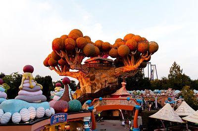 Festa al parco divertimenti: casa di prezzemolo, Gardaland