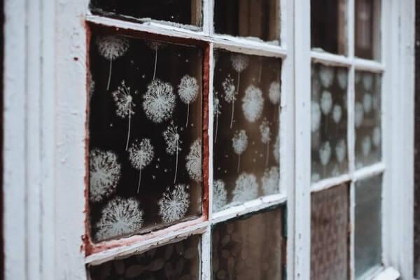 Decorazioni di Carnevale per finestre
