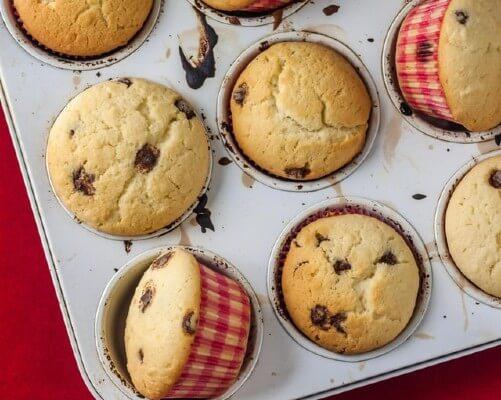Muffin al cioccolato fai da te