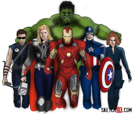 Sagoma Avengers