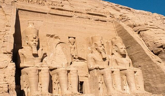 Scenografia Egiziana per festa a tema